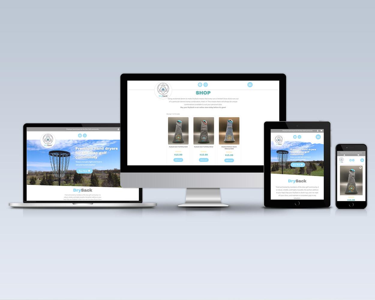 drysack black bike media ecommerce webshop sell Guelph online